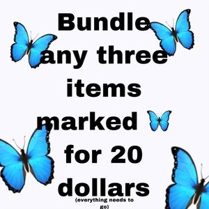 🦋 SALE TIME!!! EVERYTHING NEEDS TO GO!!!
